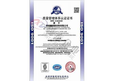 质量体质认证